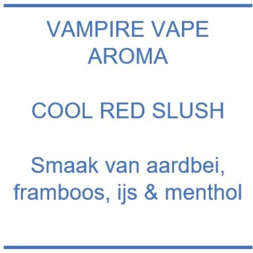 Aroma - Cool Red Slush