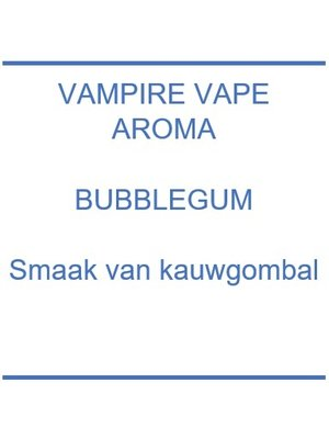Aroma - Bubblegum