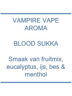Aroma - Blood Sukka