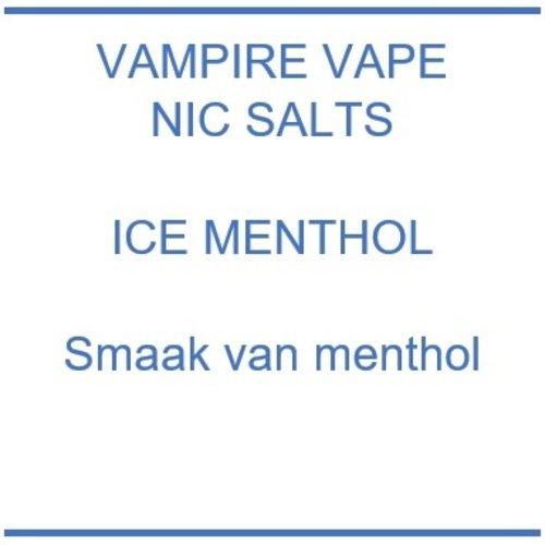 Vampire Vape Nic Salts Ice Menthol
