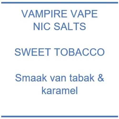 Vampire Vape Nic Salts Sweet Tobacco