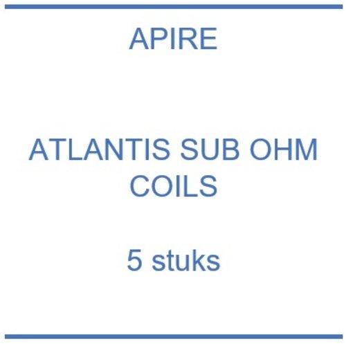 Atlantis Sub Ohm coils