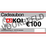 A2KOI €100,- Cadeaubon A2KOI