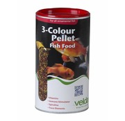 Velda Velda 3-Colour Pellet Fish Food - 470 Gram