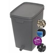 Velda Velda Box Filter Set 7000 Inclusief Filtermateriaal, Pomp en Slang