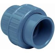 Effast 3/3 koppeling met O-ring lijm 75mm