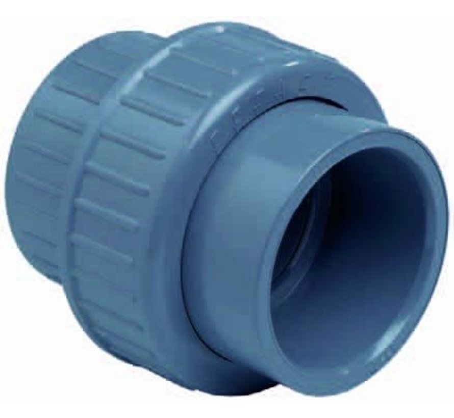 3/3 koppeling met O-ring lijm 90mm