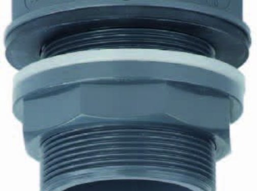 Effast Tankdoorvoer met vlakke uitlaat 40 mm