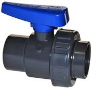 Effast Kogelkraan PVC Lijm met enkele wartel 25mm