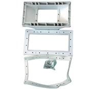 Aquaforte Brede mond Kit (Wit) voor Wandskimmer