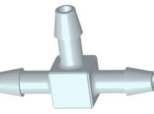 Aquaforte PP T-Stuk 7,9mm