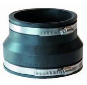 Fernco flexibele verloop koppeling 90/75 x 63/50mm