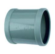 Wavin PVC Oversteekmof 2 x manchet 125 mm Wavin