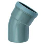 Wavin PVC Bocht 45° manchet - mof x spie 110 mm Wavin