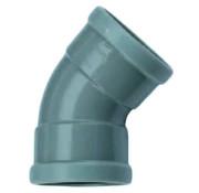 Wavin PVC Bocht 45° manchet - 2 x mof 110 mm Wavin