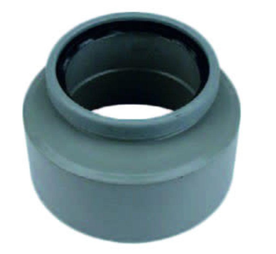 PVC Inzetverloopstuk mof x spie 125 x 160 mm Wavin