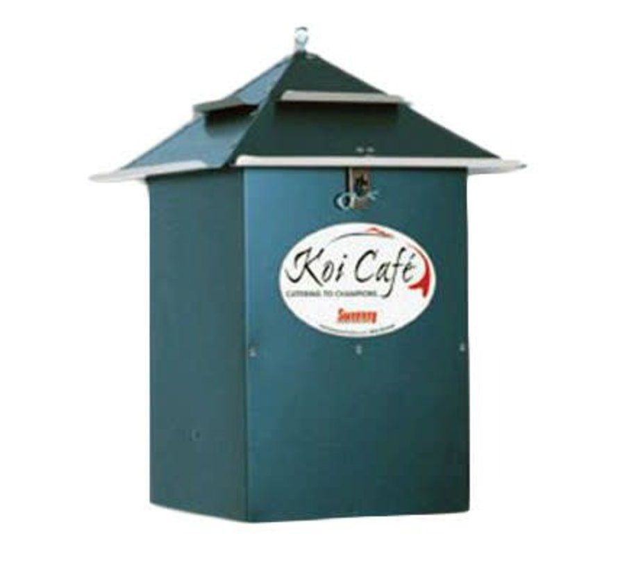 Koi Café voerautomaat Groen
