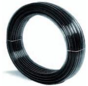 Aquaforte Heldere PVC slang type kristal 9 x 12 zwart