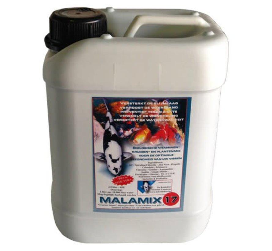 Malamix 17 2,5 ltr (van koidokter Maarten Lammens)