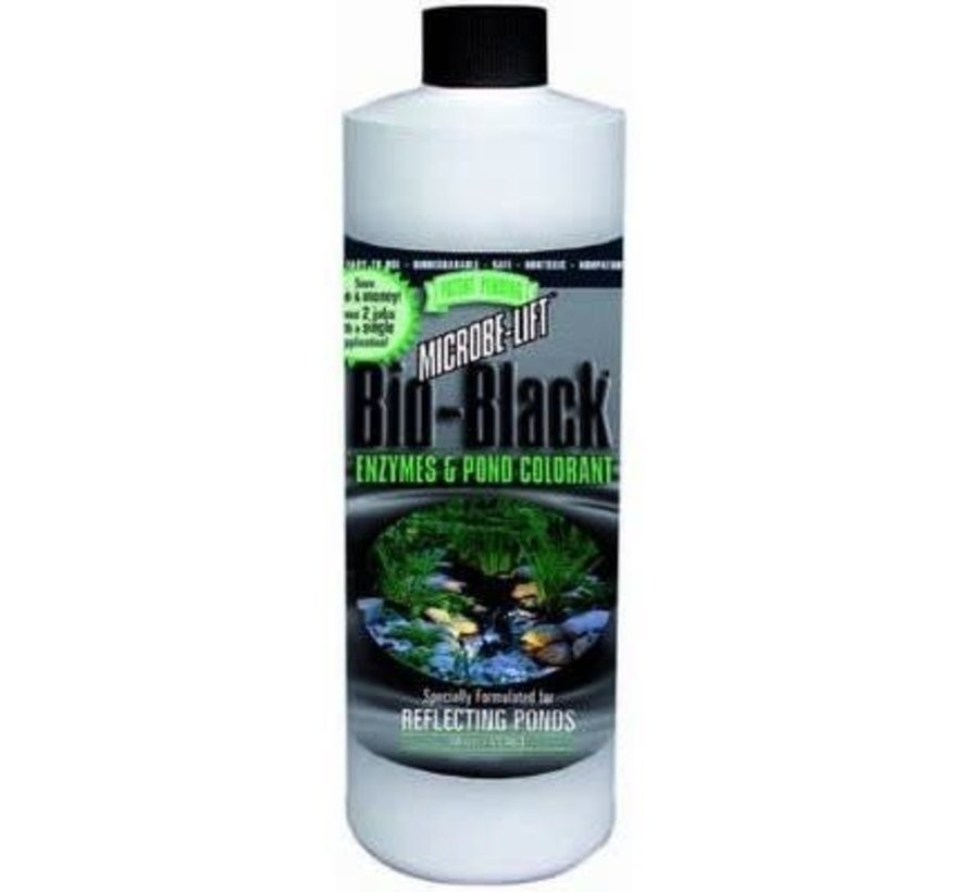 Microbe-Lift Bio Black Enzymen & Vijver Kleurstof - 500 ml