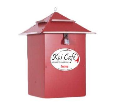 Koi Café Koi Café voerautomaat Rood