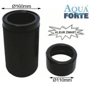 Aquaforte Drijvende skimmer zwart Aquaforte