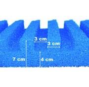 Aquaforte T-Profiel Filterschuim 50 x 50 cm - Grof