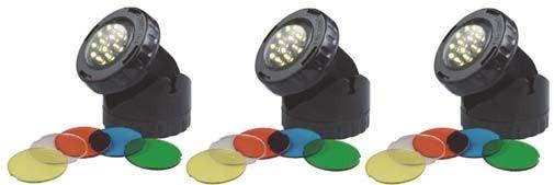 Aquaforte Aquaforte Vijver en Tuin LED Lamp 3x 16 Watt
