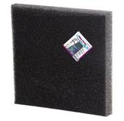Belone Filtration Filterschuim Filtermateriaal voor Vijvers 50 x 50 x 2 cm Zwart