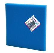 Belone Filtration Filterschuim Filtermateriaal voor Vijvers 50 x 50 x 5 cm Blauw
