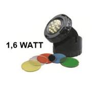 Aquaforte Aquaforte Vijver en Tuin LED Lamp 1x 1,6 Watt