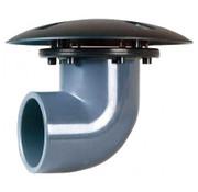 Xclear Bodemdrain / Wanddoorvoer RTF 90° 50mm
