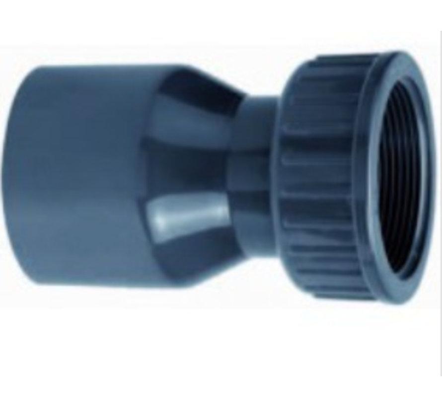 2/3 koppeling lijm 40mm x 1 ¼''