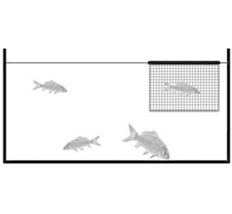 Drijvend Inspectienet 120 x 90 x 75 cm (extra diep)