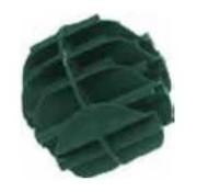 Aquaforte Bioballen Filtermedia 10 Liter Zak (±400 stuks)