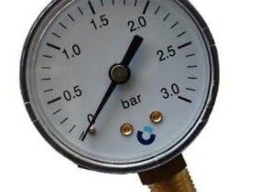 Aquaforte Manometer 0-3 bar