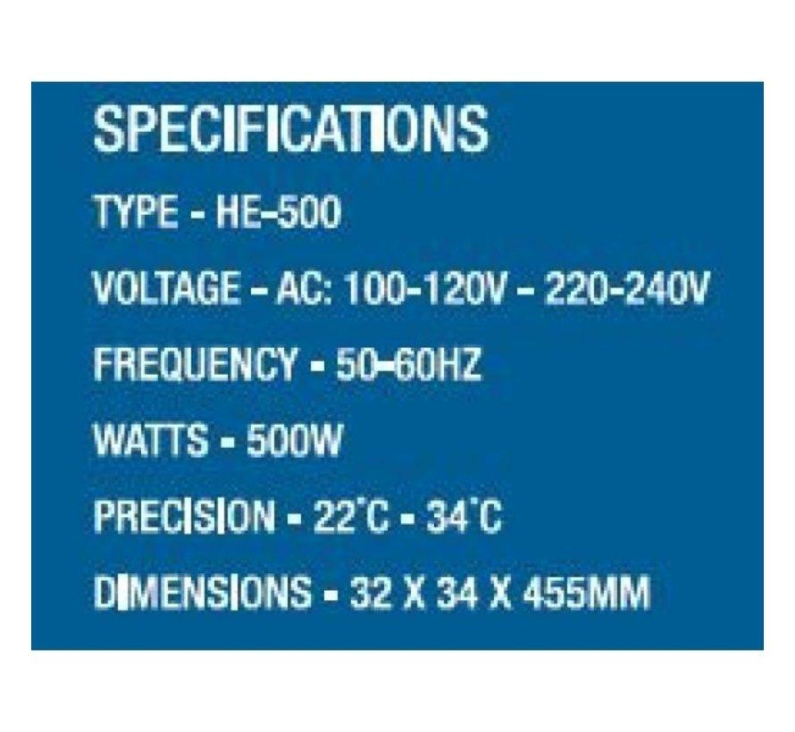 AquaKing Vatverwarming HE-500W