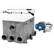 Aquaforte AquaForte Trommelfilter + Spoelpomp + UV-C