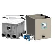 Aquaforte AquaForte Trommelfilter + Spoelpomp + UV-C + Biokamer