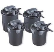 Aquaforte Aquaforte Drukfilter CBF-4000 met 9 watt UVC & Backwash functie