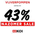 Nazomer Sale: Vario Vijverpompen