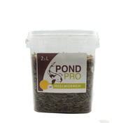 Pond Pro Pond Pro Meelwormen - 2,5 Liter Emmer