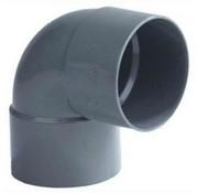 Wavin PVC Bocht 88° 2 x mof 40mm Wavin