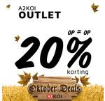 Oktober Deals: A2KOI Outlet