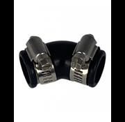 Air Aqua Flexibele bocht (45°) 25mm