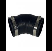 Air Aqua Flexibele bocht (45°) 75mm