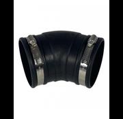 Air Aqua Flexibele bocht (45°) 90mm