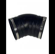 Air Aqua Flexibele bocht (45°) 125mm