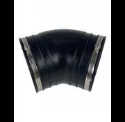 Air Aqua Flexibele bocht (45°) 160mm