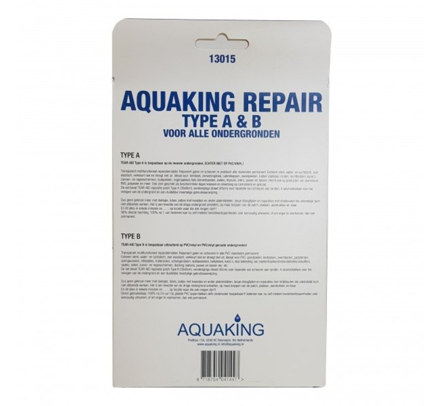 Aquaking Repair kit